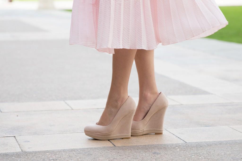 Pink, Asos, Midi Skirt, Spring