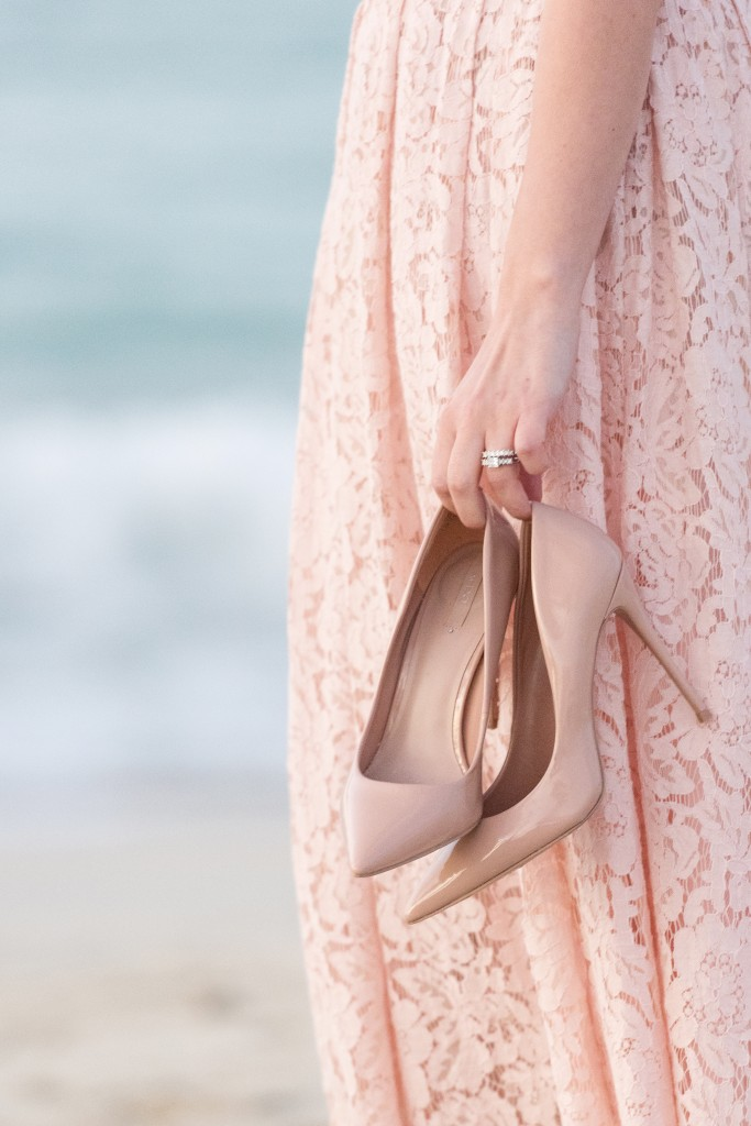 Blush Pumps