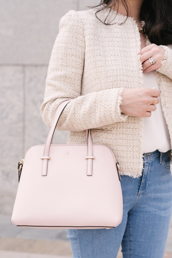Blush Pink Satchel