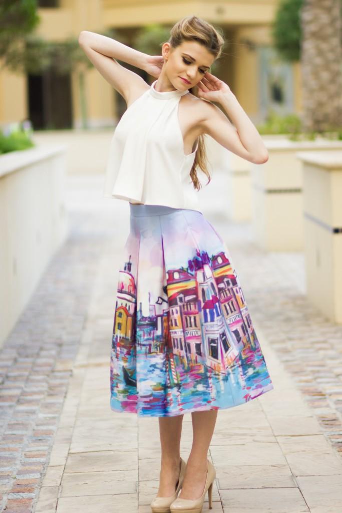 Venice Midi Skirt