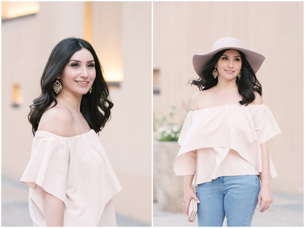 6ea52bde45629 Asos top Asos blush pink top off shoulder ...