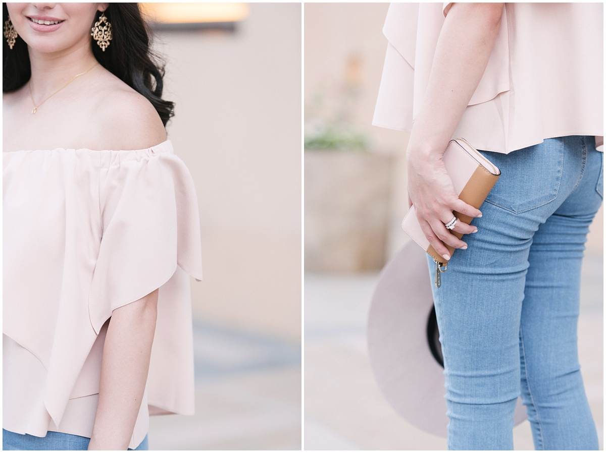 Blush Pink Asos Top
