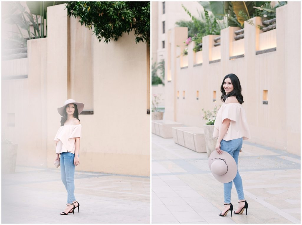 Off-the-shoulder trend
