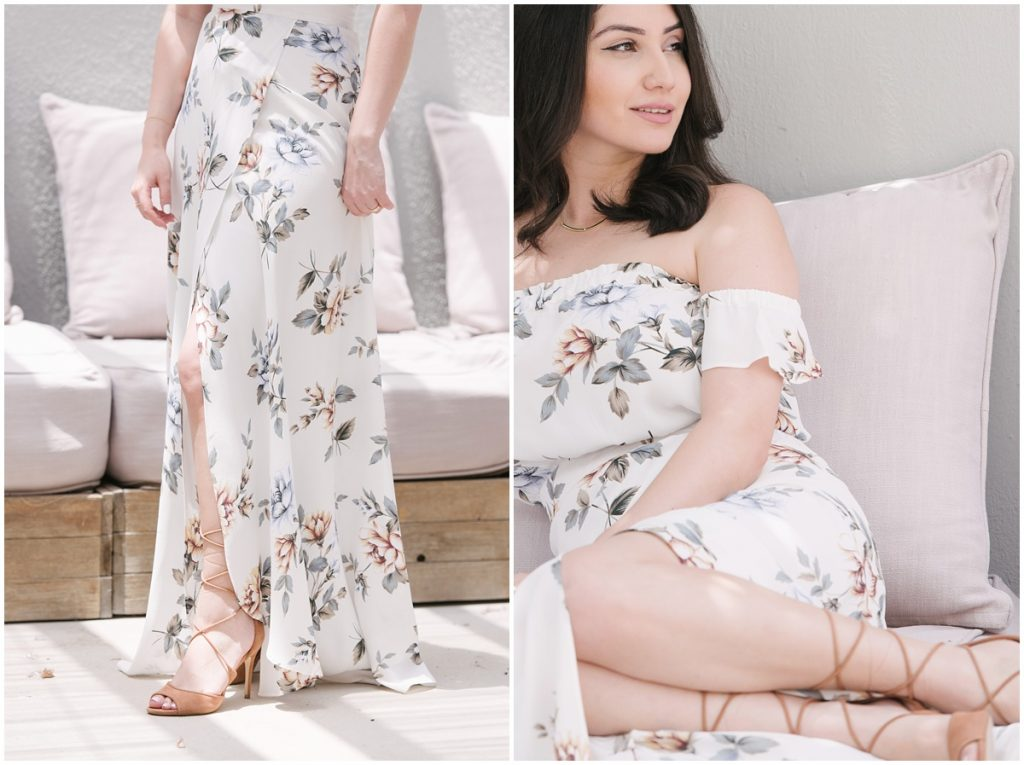 white rose bella maxi