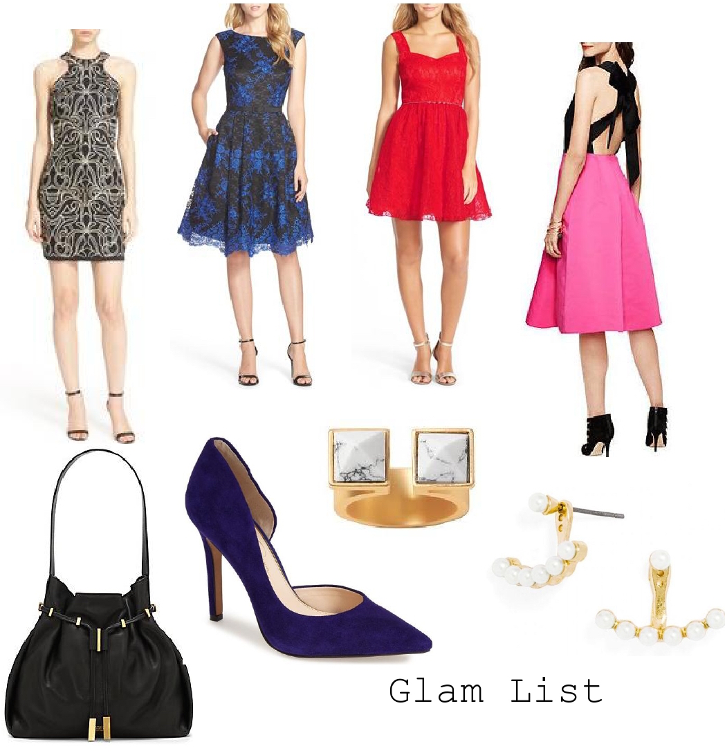 My Holiday Glam List